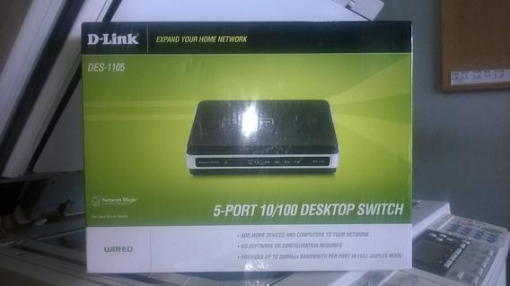 D-link Des 1105 5-port Desktop Switch 10/100