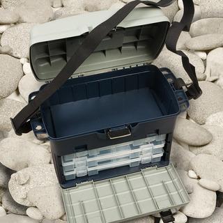 Caja De Pesca Waterdog Con Cajitas Organizadoras El Jabali