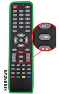Control Remoto Para Master G Ken Brown Rca Tecla Home Smart