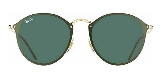 Óculos De Sol Ray Ban Rb3574 Round Blaze Original