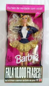 Boneca Barbie Fala 10.000 Frases Estrela Rara Frete Grátis