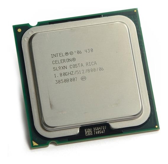 Processador Intel Celeron 430 512k Cache 1.80 Ghz 800mhz