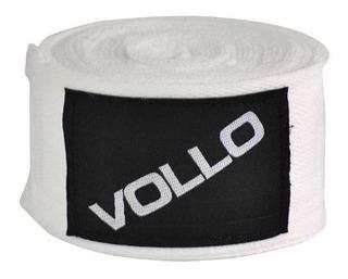 Bandagem Elástica 3m Branca - Vollo Vfg 136