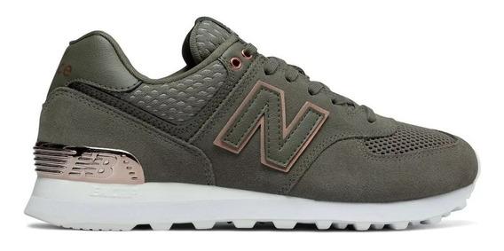 Zapatillas New Balance Wl574 Fsd De Mujer