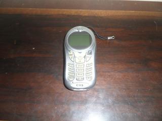 Celular Motorola C115 Sem Bateria Com Carregador