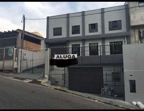 Imagem 1 de 12 de Aluga-se Galpão Em São Bernardo Com 350mts