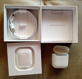 AirPods Apple 2 Gen. Carga Inalámbrica Leer Descripcion!!!