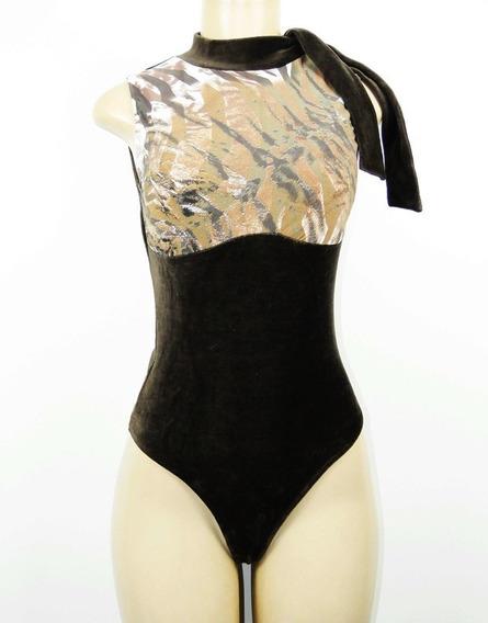 Body Feminino Gola Alta Costas Nadador Modelador Redutor De Medidas Alta Compressão Mooah