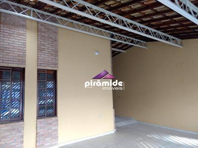 Casa Com 3 Dormitórios Para Alugar, 200 M² Por R$ 2.000/mês - Jardim Das Indústrias - São José Dos Campos/sp - Ca3442