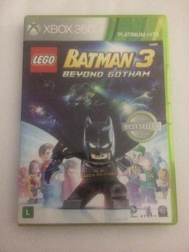 Jogo Lego Batman 3 Beyond Gotham Mídia Física Xbox 360