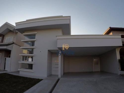 Casa Residencial, Condomínio Sunset Garden, Jacareí. -  Ca0641 - Ca0641