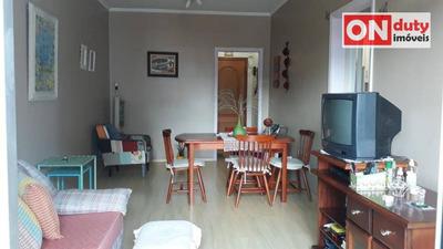Apartamento Com 2 Dormitórios À Venda, 77 M² Por R$ 430.000 - Campo Grande - Santos/sp - Ap4571