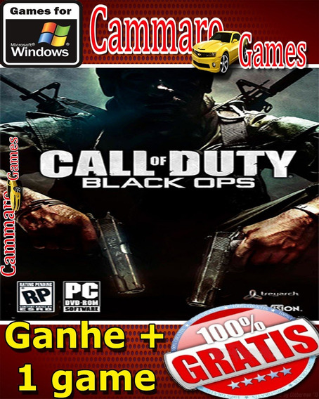 Call Of Duty: Black Ops + All Dlcs + Pt-br + 3game Grátis