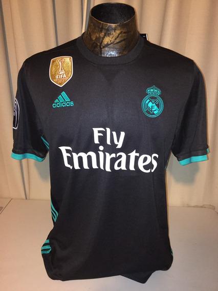 best service 855a6 bd7c1 Jersey Real Madrid Negra Ronaldo Dragon en Mercado Libre México