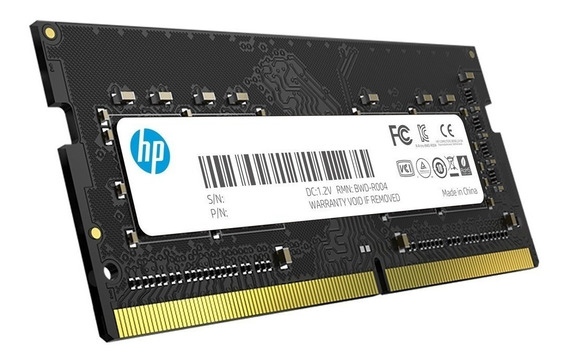 Memoria Ram Notebook 8gb Hp S1 Ddr4 2666mhz Sodimm Oficial