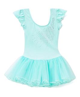 Malla Bailarina Danza Ballet Importada Nena Tutu Mod Mint/r
