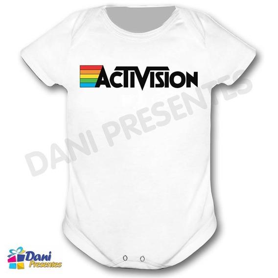 Body Activision - Retrô Game - 100% Algodão