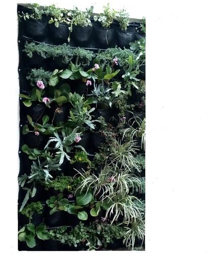 Jardin Vertical 1mts Anchox2 Alto Mts 40bolsillos