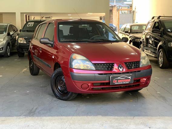 Renault Clio 1.0 16v Expression Hi-power 5p 2005 Sem Entrada
