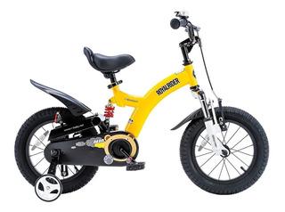 Bicicleta Amortiguador Royal Baby Flying Bear Rodado 12