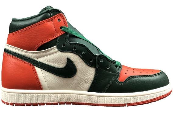 Tenis Nuevo Nike Air Jordan 1 High Og Aj1 Piel Original