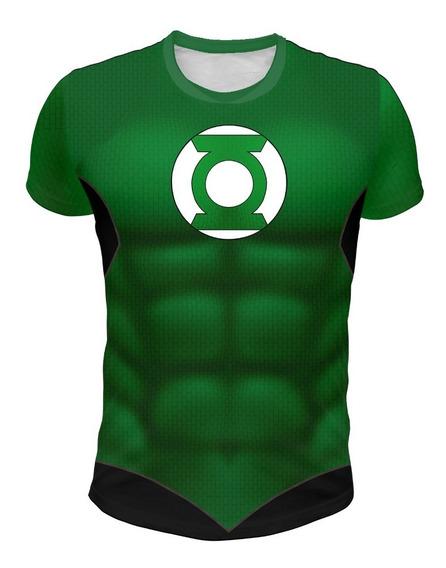 Remera De Green Lantern, (linterna Verde) Fullprint