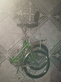 Bicicleta Plegable Asiento Banana