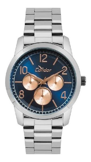 Relógio Feminino Condor Prata Co6p29ijk3a