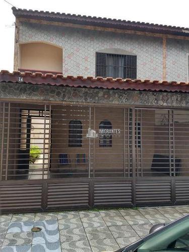 Imagem 1 de 16 de Sobrado De 3 Dormitórios No Boqueirão, Em Praia Grande - So0088