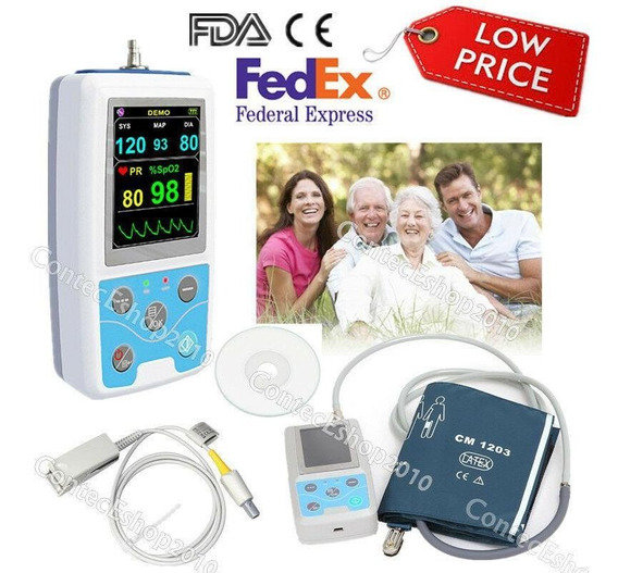 Monitor De Paciente Contec Pm50, Signos Vitales Icu Nib-7797
