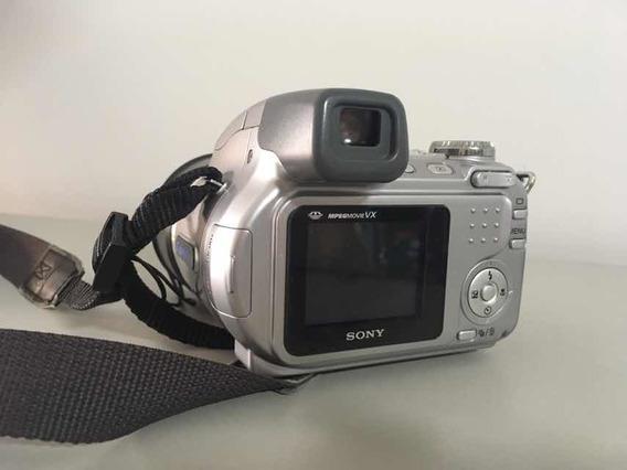 Câmera Digital Sony Cyber-shot Dsc-h2 6.0mp Zoom Óptico 12x
