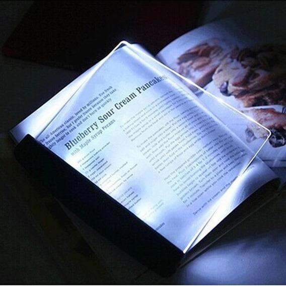Luminaria Led Luz Para Leitura Noturna Portatil + Baterias
