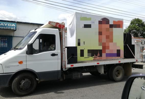 Camion Iveco 50 12 / Daily 2012 Con Plaforma Y Barandas