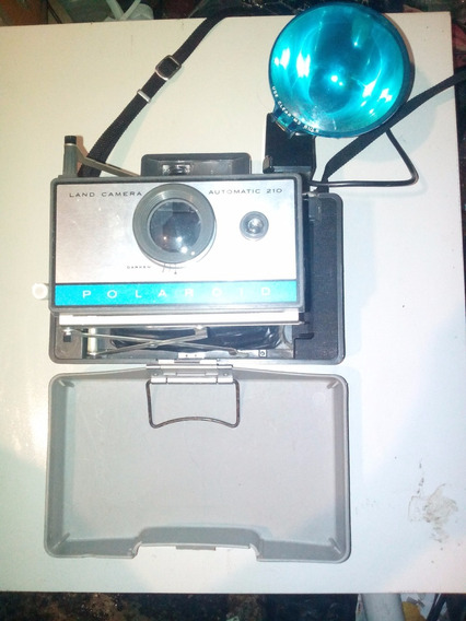 Camara Polaroid Land Automatic 210
