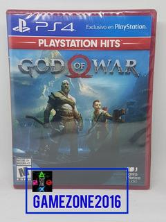 God Of War * Nuevo * Español * Ps4 * Fisico * Gamezone2016