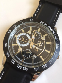 Elegante Relógio Com Vidro De Safira