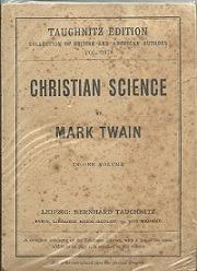 Christian Science : In One Volume - Mark Twain