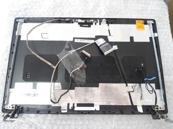 Carcaça Da Tela Com Moldura+ Hastes+flat Note Acer 5733