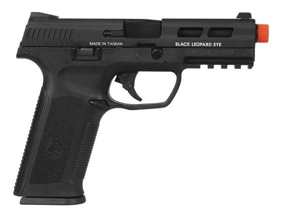 Pistola Airsoft Gbb Ics Ble-006-sb 6mm Green Gás E Hop Up