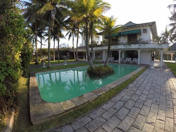 Casa No Canto Do Forte Com 3.400 M² De Terreno, À Venda Em Praia Grande. - Ca0274
