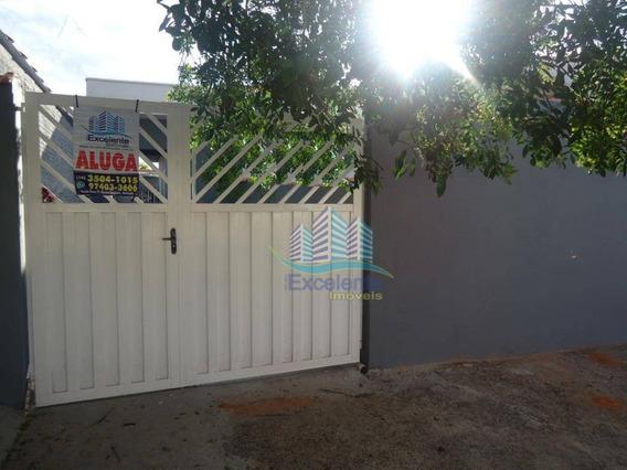 Casa Com 1 Dormitório Para Alugar, 90 M² Por R$ 700,00/mês - Jardim Amanda I - Hortolândia/sp - Ca0454