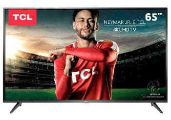 Tv 65p Tcl Led Smart 4k Wifi Usb Hdmi - 65p65us