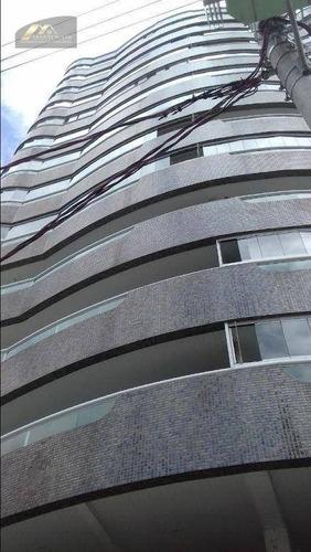 Imagem 1 de 20 de Apartamento Com 2 Dormitórios À Venda, 86 M² Por R$ 420.000,00 - Vila Guilhermina - Praia Grande/sp - Ap2780