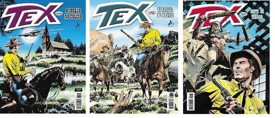 Revista Tex Kit 054 Com 03 Unidades