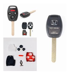 Carcasa Botones Llave Honda Accord 2003 2004 2005 2006 2007