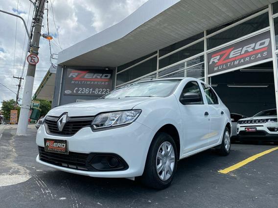 Renault Logan 2018 Completo 1.0 Flex Revisado 38.000 Km