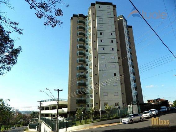 Apartamento Com 1 Dormitório Para Alugar, 47 M² Por R$ 800,00/mês - Jardim Santa Rosa - Nova Odessa/sp - Ap2381