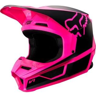 Casco Fox V1 Przm Rosa Motocross Enduro Cross Mx Rzr Atv
