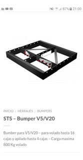 Sts Bumper V5/v20 Original 20mil C/u
