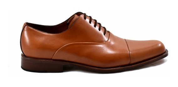 Zapatos De Cuero Bordeaux Leather De Vestir